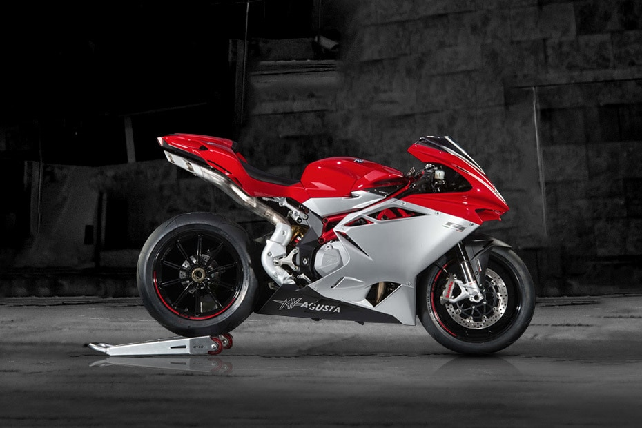 MV Agusta F4 Right Side View
