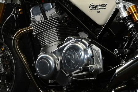 Norton Commando 961 Cafe Racer Engine