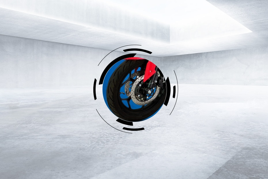 Odysse Electric Evoqis Front Tyre View