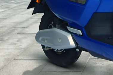 Okinawa Lite Rear Tyre View