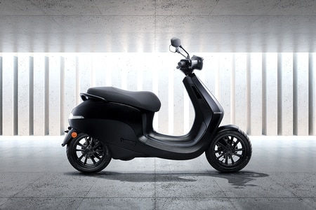 Ola Electric Scooter Right Side View