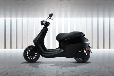 Ola Electric Ola Scooter Left Side View