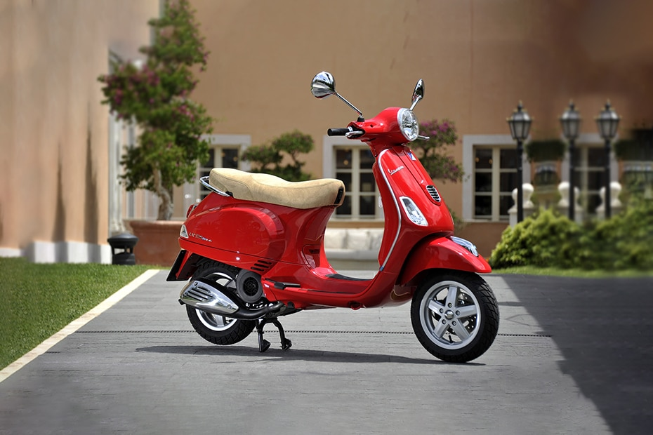 vespa lx 125 price specs mileage reviews images. Black Bedroom Furniture Sets. Home Design Ideas