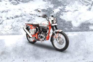 Royal Enfield Bullet Trials 350 Front Right View