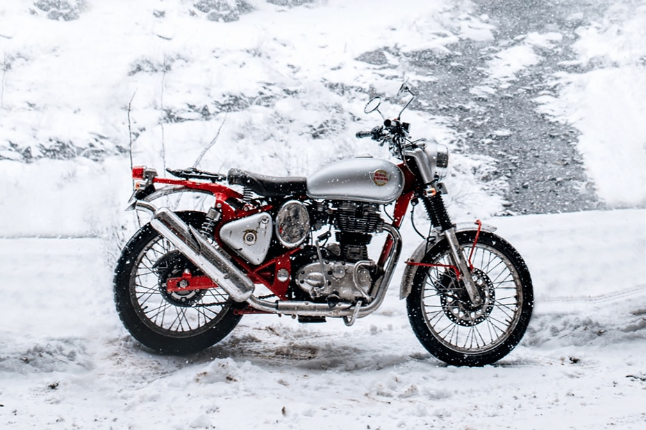 Royal Enfield Bullet Trials 350 Right Side View