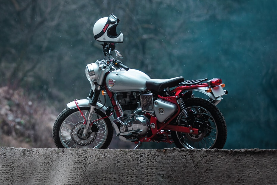 Royal Enfield Bullet Trials 350 Rear Left View