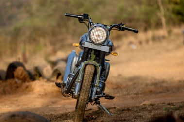 Royal Enfield Bullet Trials 500 Front View