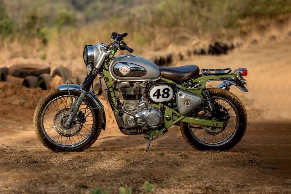 Royal Enfield Bullet Trials 500 Left Side View