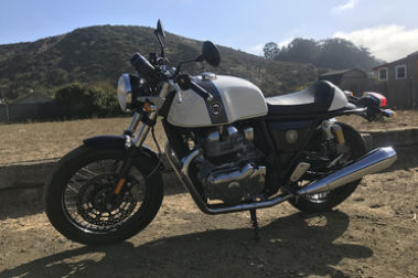 Royal Enfield Continental GT 650 Front Left View
