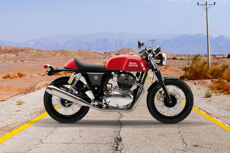 Royal Enfield Continental GT 650 Rocker Red