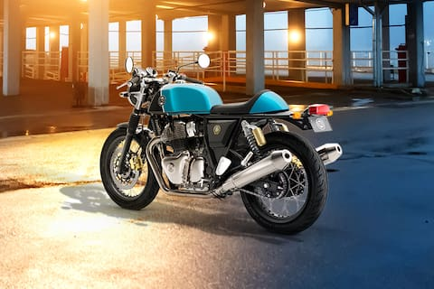 Royal Enfield Continental GT 650 Rear Left View