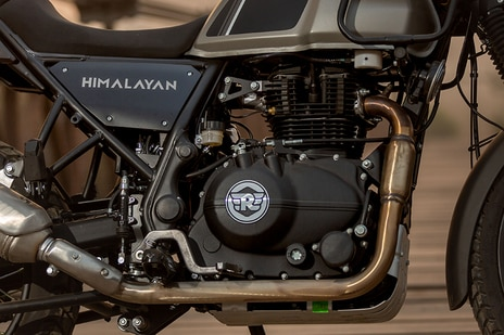 Royal Enfield Himalayan BS6 Engine