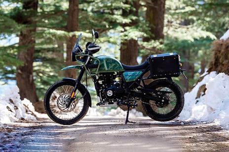 रॉयल एनफील्ड हिमालयन Pine Green