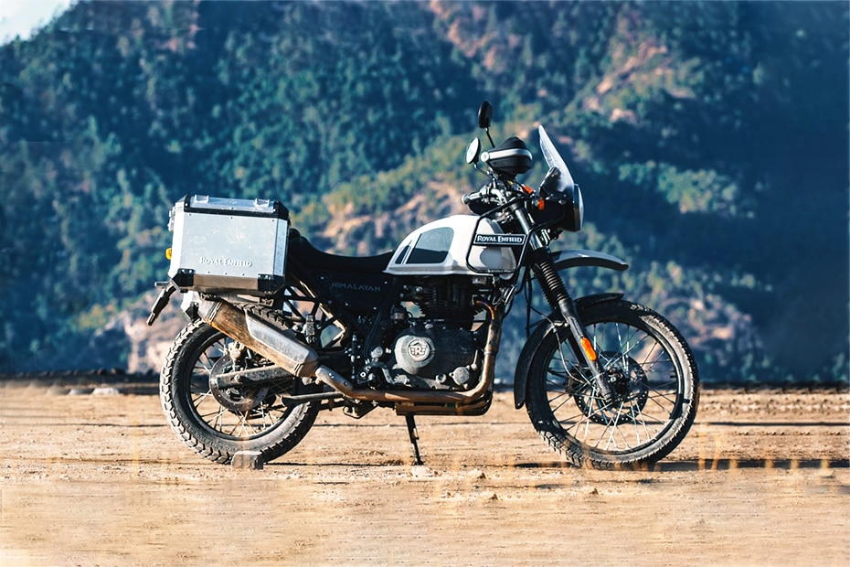Royal Enfield Himalayan BS6 Right Side View