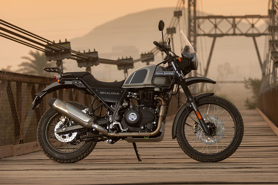 Royal Enfield Himalayan Right Side View