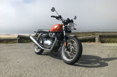 Royal Enfield Interceptor 650 Front Right View