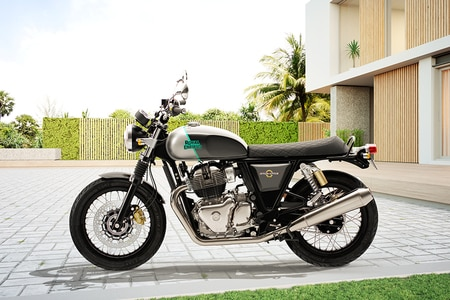 Royal Enfield Interceptor 650 Left Side View