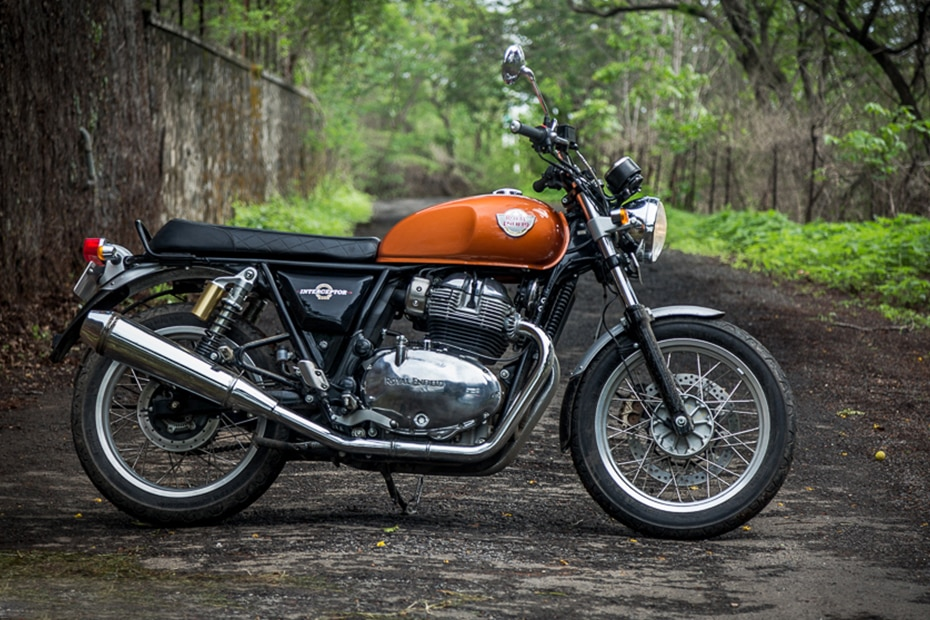 Royal Enfield Interceptor 650 Right Side View
