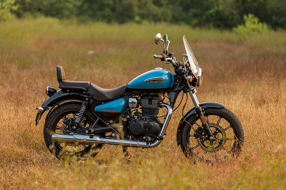 Royal Enfield Meteor 350 Left Side View
