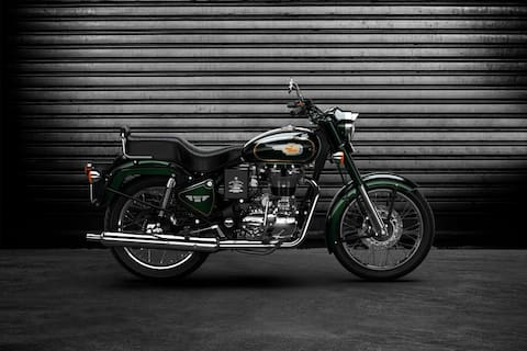 Royal Enfield Bullet 500 Right Side View