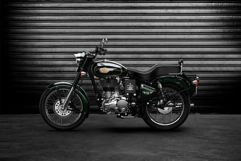 Royal Enfield Bullet 500 Left Side View