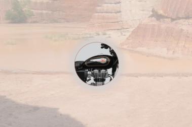 Royal Enfield Bullet 350 Fuel Tank