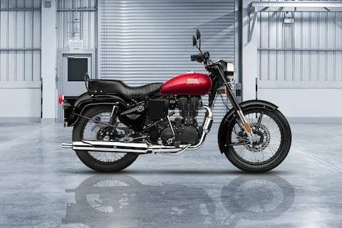 Royal Enfield Bullet 350 Left Side View
