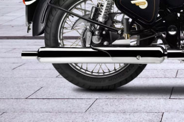 Royal Enfield Classic 350 Exhaust View