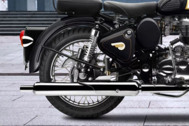 Royal Enfield Classic 350 Rear Tyre View