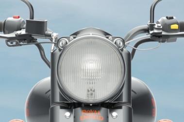 रॉयल एनफील्ड क्लासिक 350 Head Light