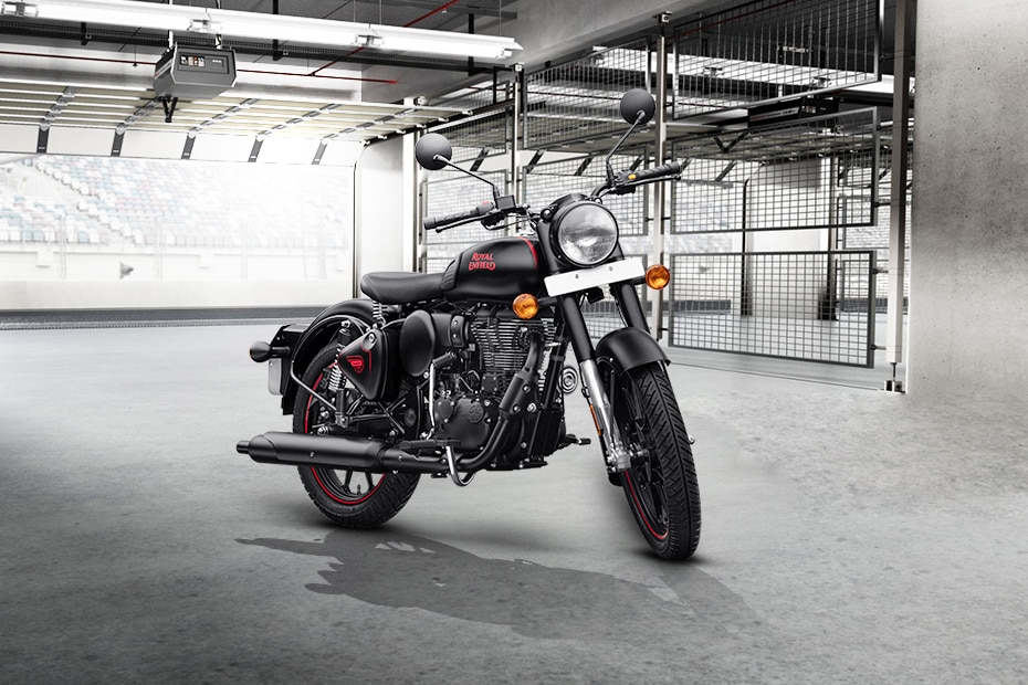 Royal Enfield Classic 350 Stealth Black