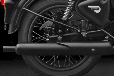 Royal Enfield Classic 500 Exhaust View