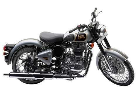 Royal Enfield Classic 500 Classic Silver