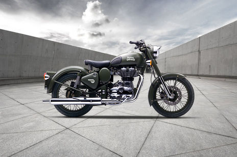 Royal Enfield Classic 500 Battle Green Price Images Mileage Specs