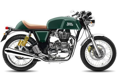 Royal Enfield Continental GT GT Green