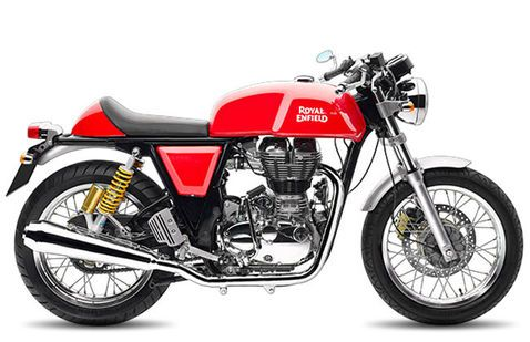 Royal Enfield Continental GT GT Red