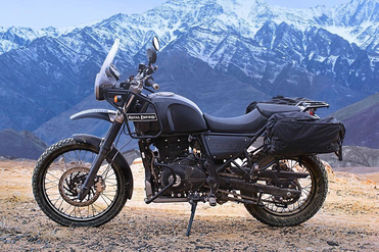 Royal Enfield Himalayan BS4 Left Side View
