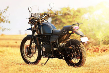 Royal Enfield Himalayan BS4 Rear Left View