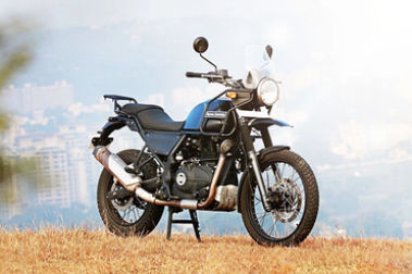 Royal Enfield Himalayan Front Right View