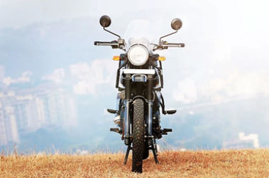 Royal Enfield Himalayan Front View