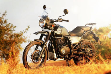 Royal Enfield Himalayan Front Left View