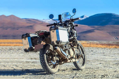 Royal Enfield Himalayan Rear Right View