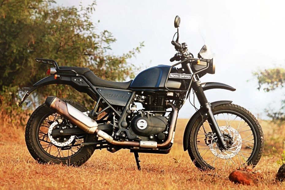 Royal Enfield Himalayan BS4 Right Side View