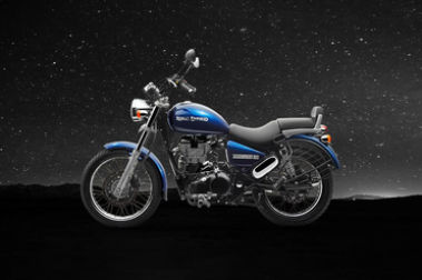 Royal Enfield Thunderbird 500 Left Side View
