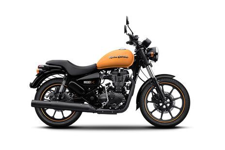 Royal Enfield Thunderbird 500X Getaway Orange