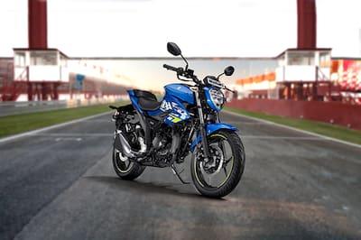 Suzuki Gixxer Front Right View