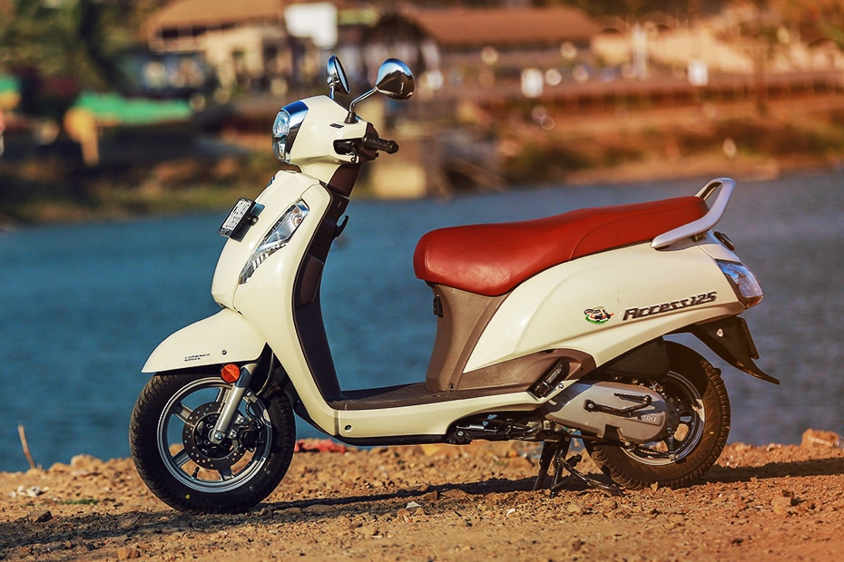 Suzuki Access 125 Left Side View
