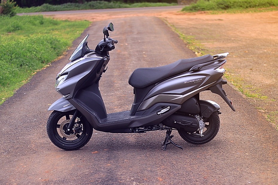 Suzuki Burgman Street Left Side View