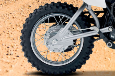 Suzuki DR-Z50 Rear Tyre View
