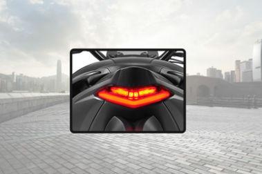 Suzuki Gixxer 250 Tail Light